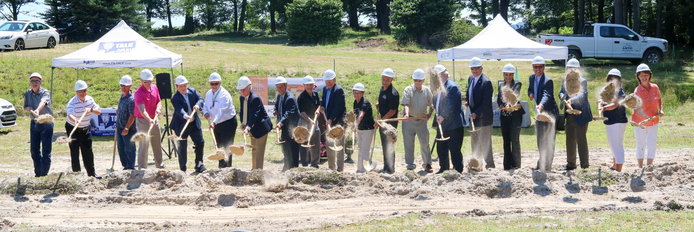 Laurel Highland Total Communications, Inc. Breaks Ground on a New Corporate Office Building
